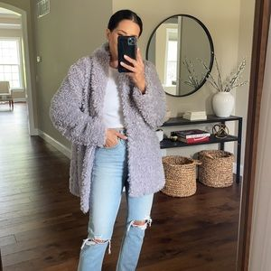 Ellen Tracy Faux Fur Jacket